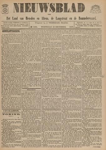 Nieuwsblad het land van Heusden en Altena de Langstraat en de Bommelerwaard 1897-12-15