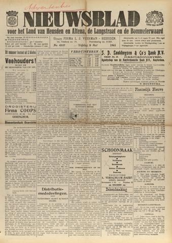 Nieuwsblad het land van Heusden en Altena de Langstraat en de Bommelerwaard 1941-05-09