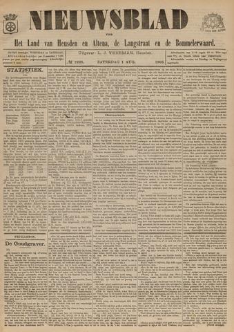 Nieuwsblad het land van Heusden en Altena de Langstraat en de Bommelerwaard 1903-08-01
