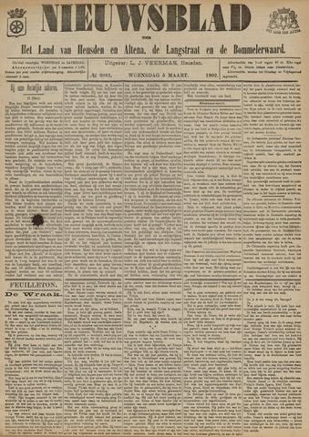 Nieuwsblad het land van Heusden en Altena de Langstraat en de Bommelerwaard 1902-03-05