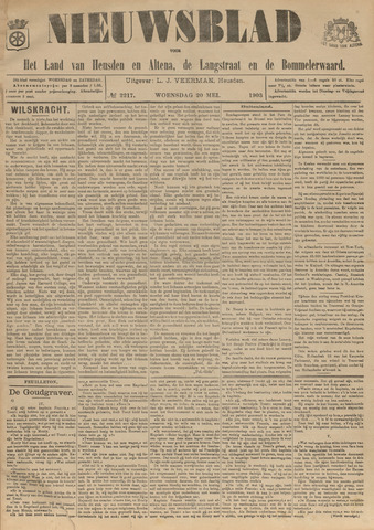 Nieuwsblad het land van Heusden en Altena de Langstraat en de Bommelerwaard 1903-05-20