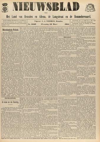Nieuwsblad het land van Heusden en Altena de Langstraat en de Bommelerwaard 1915-03-24