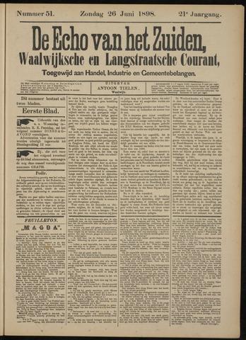 Echo van het Zuiden 1898-06-26