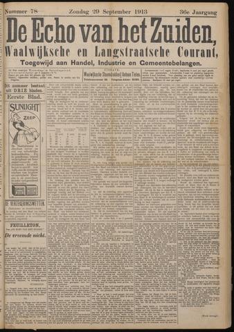 Echo van het Zuiden 1913-09-28