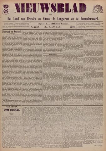 Nieuwsblad het land van Heusden en Altena de Langstraat en de Bommelerwaard 1908-10-31