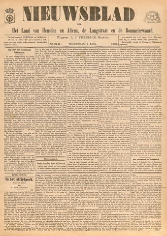 Nieuwsblad het land van Heusden en Altena de Langstraat en de Bommelerwaard 1905-08-02