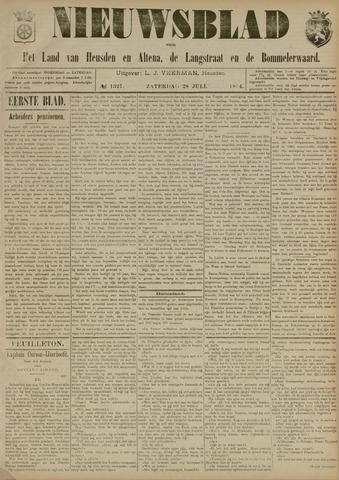 Nieuwsblad het land van Heusden en Altena de Langstraat en de Bommelerwaard 1894-07-28