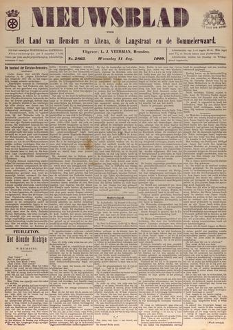 Nieuwsblad het land van Heusden en Altena de Langstraat en de Bommelerwaard 1909-08-11