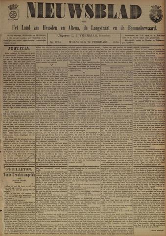 Nieuwsblad het land van Heusden en Altena de Langstraat en de Bommelerwaard 1894-02-28