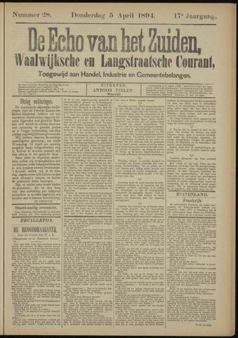 Echo van het Zuiden 1894-04-05