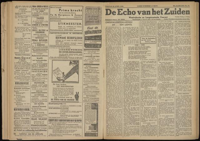 Echo van het Zuiden 1946-04-26