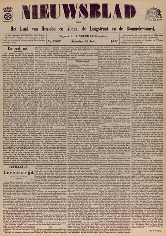 Nieuwsblad het land van Heusden en Altena de Langstraat en de Bommelerwaard 1911-07-15