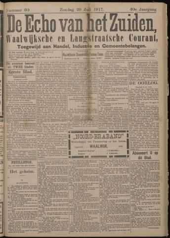 Echo van het Zuiden 1917-07-29