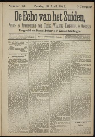 Echo van het Zuiden 1882-04-16