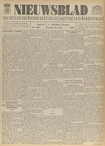 Nieuwsblad het land van Heusden en Altena de Langstraat en de Bommelerwaard 1920-04-21