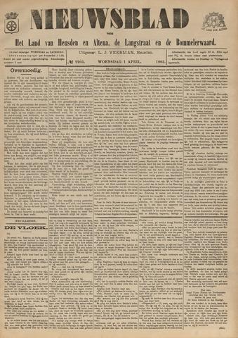 Nieuwsblad het land van Heusden en Altena de Langstraat en de Bommelerwaard 1903-04-01
