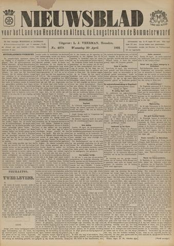 Nieuwsblad het land van Heusden en Altena de Langstraat en de Bommelerwaard 1921-04-20