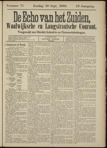 Echo van het Zuiden 1889-09-29