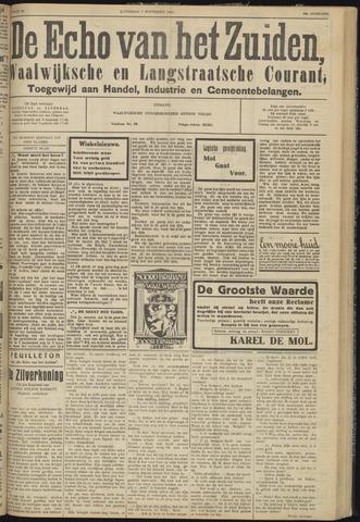 Echo van het Zuiden 1931-11-07