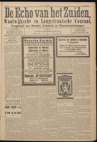 Echo van het Zuiden 1927-09-10