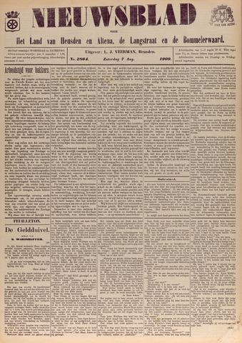 Nieuwsblad het land van Heusden en Altena de Langstraat en de Bommelerwaard 1909-08-07