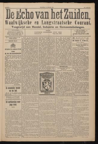 Echo van het Zuiden 1926-01-13