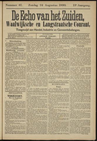 Echo van het Zuiden 1890-08-24