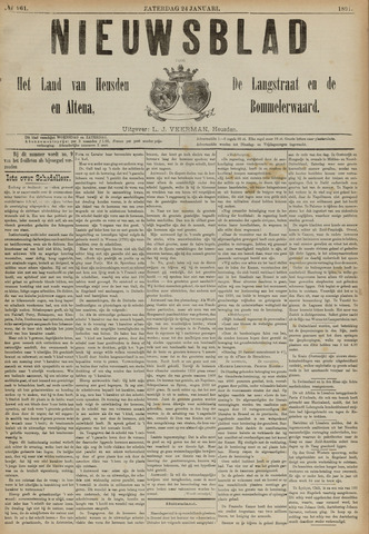 Nieuwsblad het land van Heusden en Altena de Langstraat en de Bommelerwaard 1891-01-24