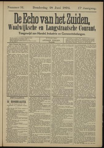 Echo van het Zuiden 1894-06-28