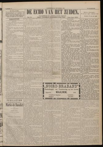 Echo van het Zuiden 1920-09-16
