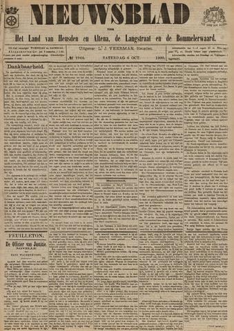Nieuwsblad het land van Heusden en Altena de Langstraat en de Bommelerwaard 1900-10-06