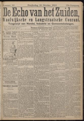 Echo van het Zuiden 1912-10-10