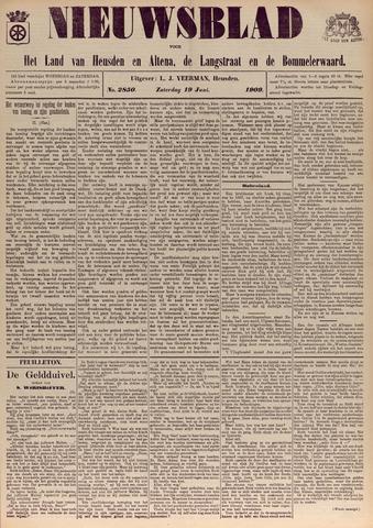 Nieuwsblad het land van Heusden en Altena de Langstraat en de Bommelerwaard 1909-06-19