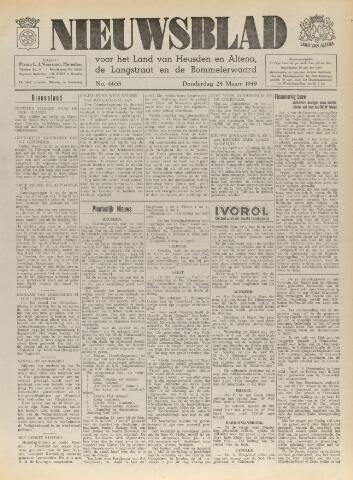 Nieuwsblad het land van Heusden en Altena de Langstraat en de Bommelerwaard 1949-03-24