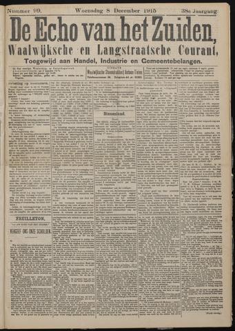 Echo van het Zuiden 1915-12-09