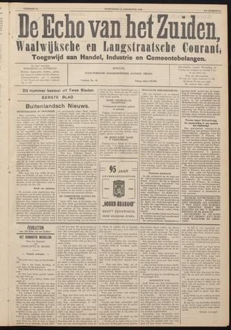 Echo van het Zuiden 1938-08-24