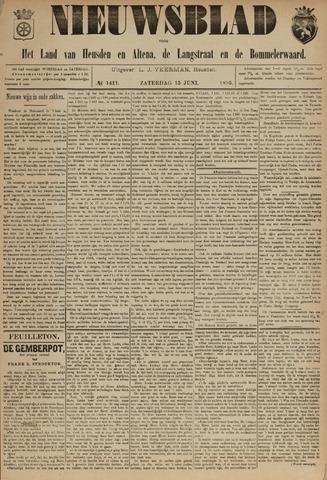 Nieuwsblad het land van Heusden en Altena de Langstraat en de Bommelerwaard 1895-06-15