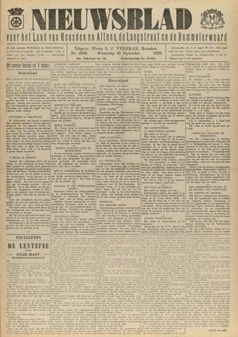 Nieuwsblad het land van Heusden en Altena de Langstraat en de Bommelerwaard 1929-09-25