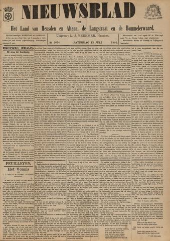 Nieuwsblad het land van Heusden en Altena de Langstraat en de Bommelerwaard 1901-07-13