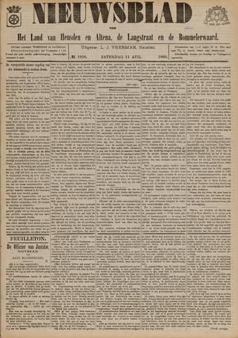 Nieuwsblad het land van Heusden en Altena de Langstraat en de Bommelerwaard 1900-08-11