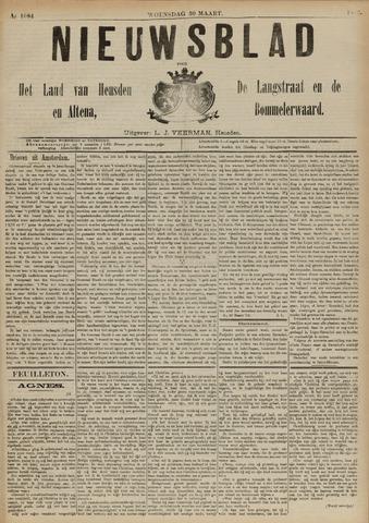 Nieuwsblad het land van Heusden en Altena de Langstraat en de Bommelerwaard 1892-03-30