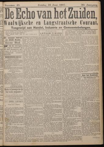 Echo van het Zuiden 1907-06-16