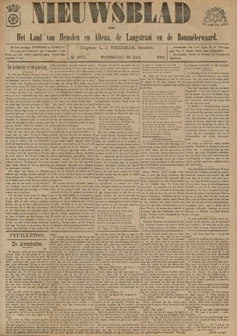 Nieuwsblad het land van Heusden en Altena de Langstraat en de Bommelerwaard 1901-01-30