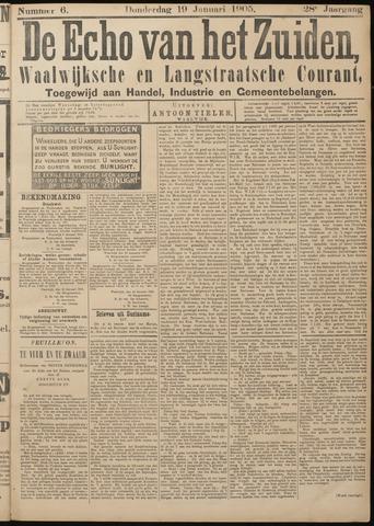 Echo van het Zuiden 1905-01-19