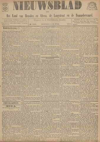 Nieuwsblad het land van Heusden en Altena de Langstraat en de Bommelerwaard 1897-07-21