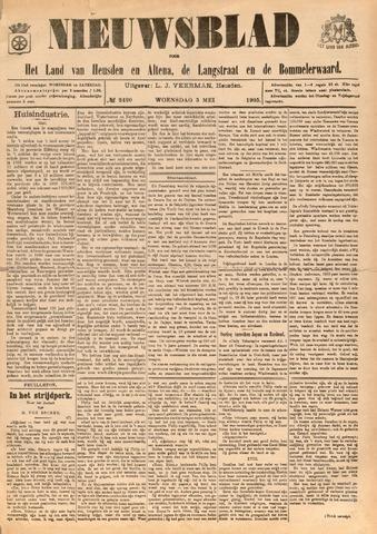 Nieuwsblad het land van Heusden en Altena de Langstraat en de Bommelerwaard 1905-05-03