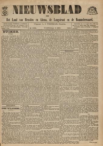 Nieuwsblad het land van Heusden en Altena de Langstraat en de Bommelerwaard 1902-12-03