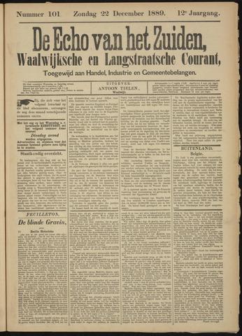 Echo van het Zuiden 1889-12-22