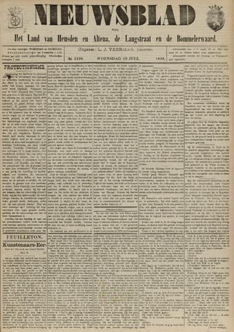 Nieuwsblad het land van Heusden en Altena de Langstraat en de Bommelerwaard 1893-07-19