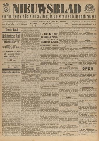 Nieuwsblad het land van Heusden en Altena de Langstraat en de Bommelerwaard 1923-12-28